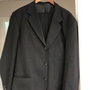 Mens 2 piece Black suit